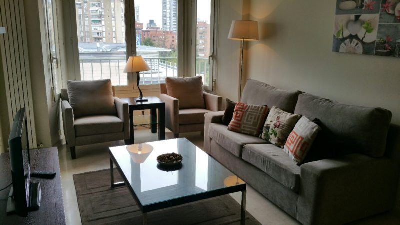 Apartment furnished for a Diplomat for 2 years, North Madrid