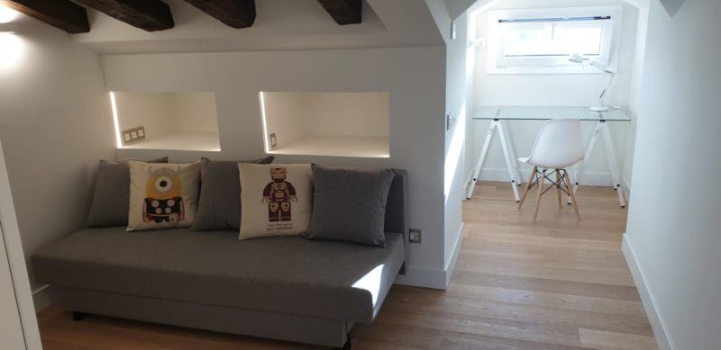 High-end rental apartment downtown Madrid