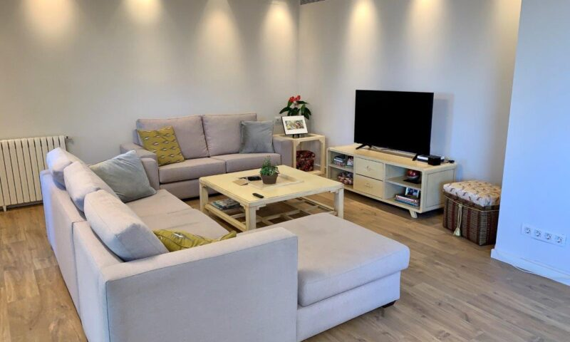 Stylish Living-Dining Room.